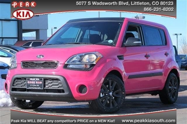 pink kia soul i 39 d drive it as long as the hamsters came with it mentor kia pinterest. Black Bedroom Furniture Sets. Home Design Ideas