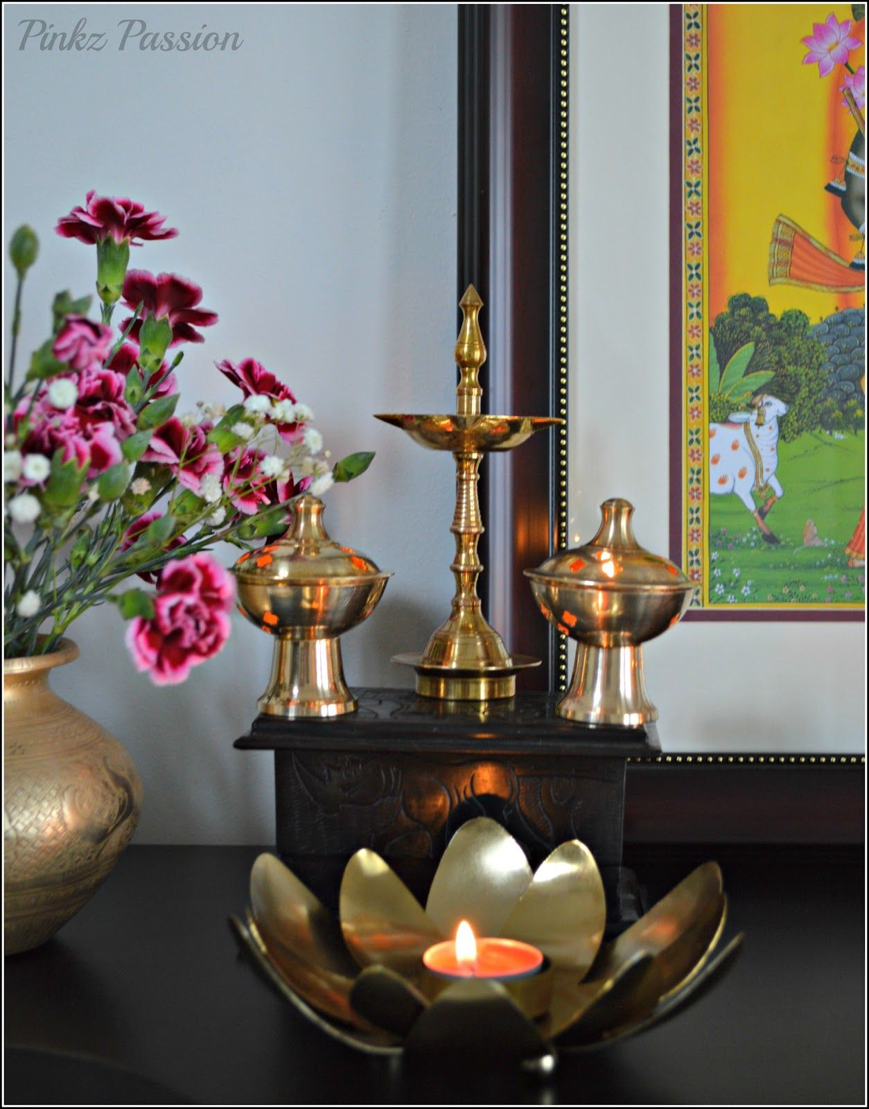 Festival of Lights - Diwali Decor-1 | Copper and Brass collection ... for Diwali Decoration Ideas For Living Room  35fsj