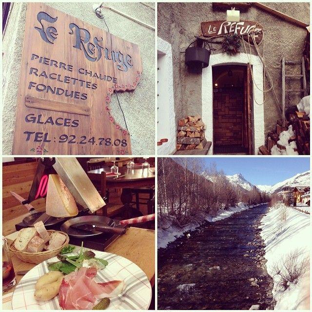 Restaurant Le Refuge A Serrechevalier Villeneuve Avec Djdinh Sur Instagram Tourismepaca Hautesalpes Http Www Ser Serre Chevalier Bar Restaurant Chevalier