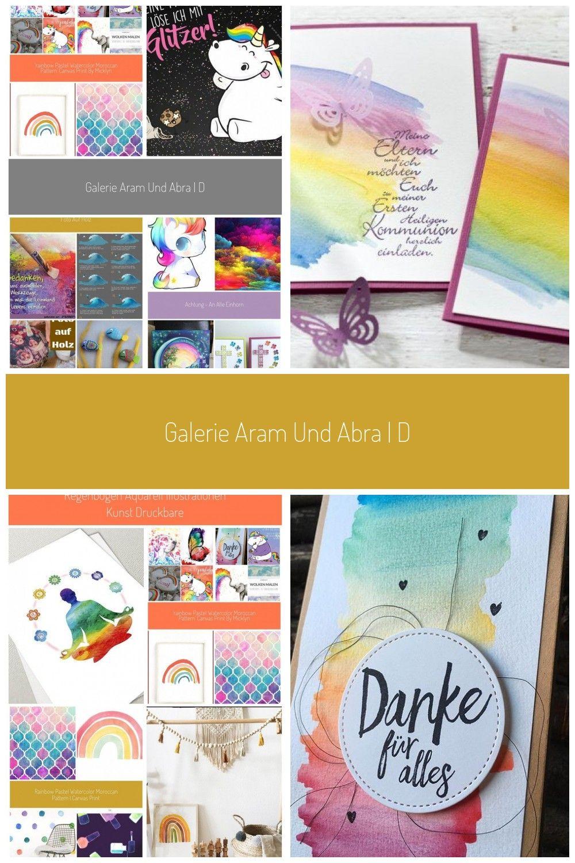 Galerie Aram Und Abra Dogge Regenbogen Bunt Farben