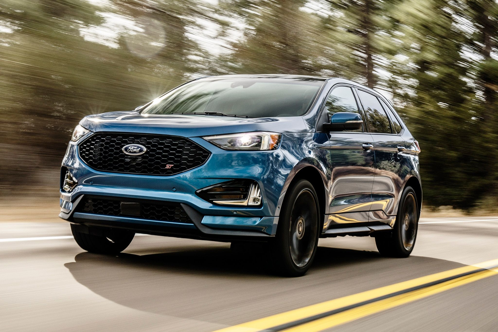Facelifted 2019 Ford Edge Gets a 238 HP Turbo sel