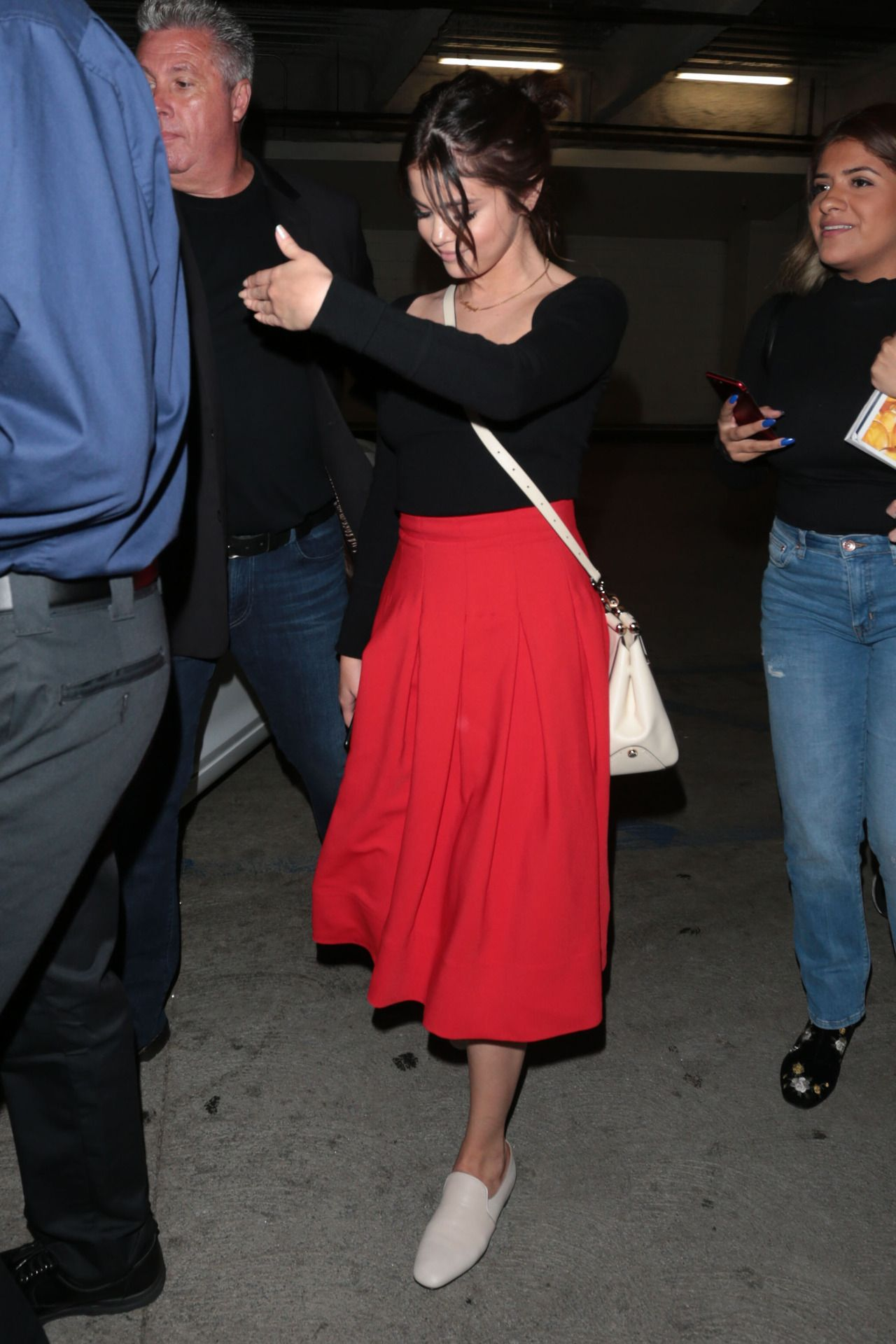 August 19: Selena leaving ArcLight Hollywood in Los Angeles, California