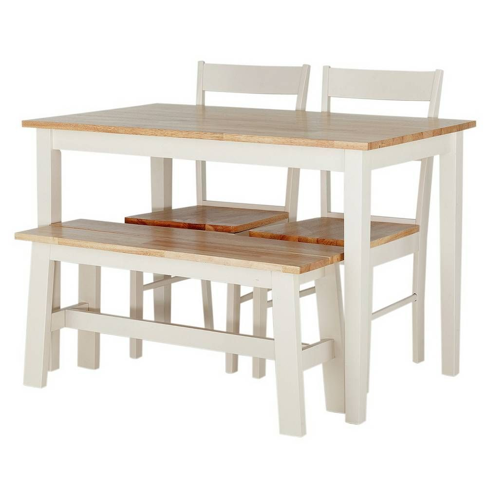 Argos Kitchen Bar Table And Chairs: Buy Argos Home Chicago Solid Wood Table, 2 Chairs & Bench