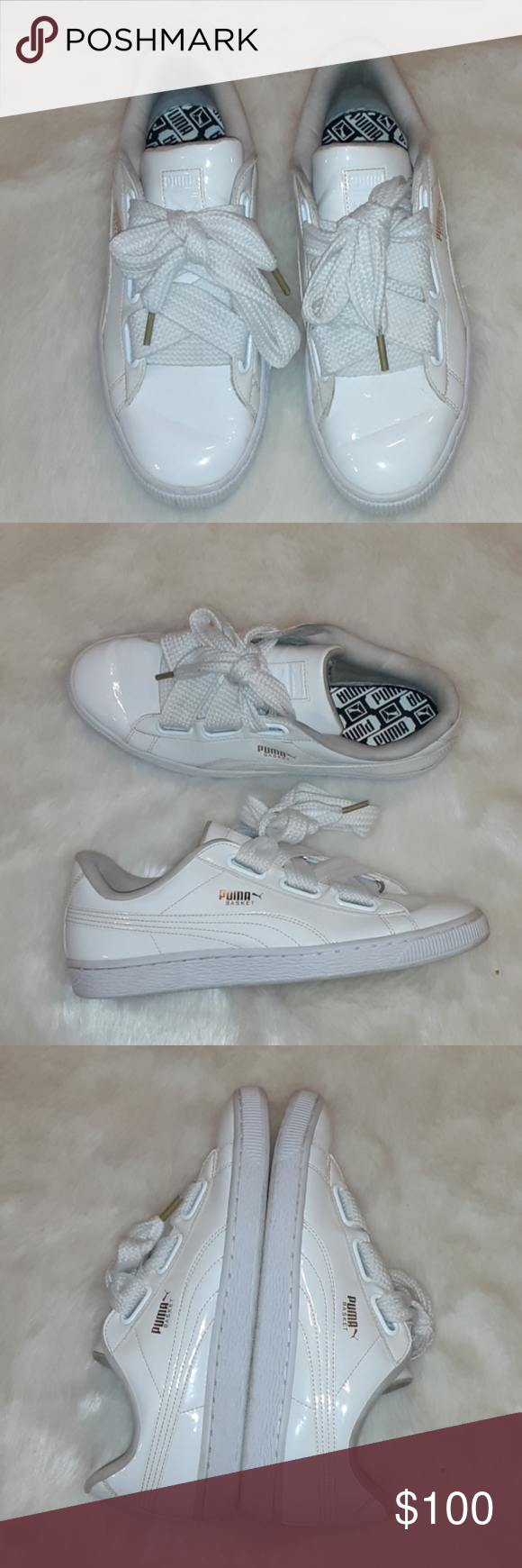 PUMAS Patent Leather sneakers Super