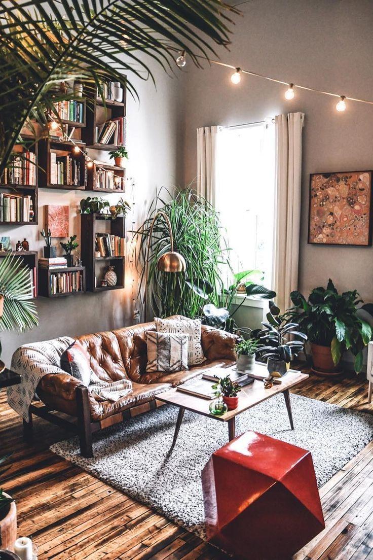 Living Room House Bohemianism Design Interior Design Furniture En