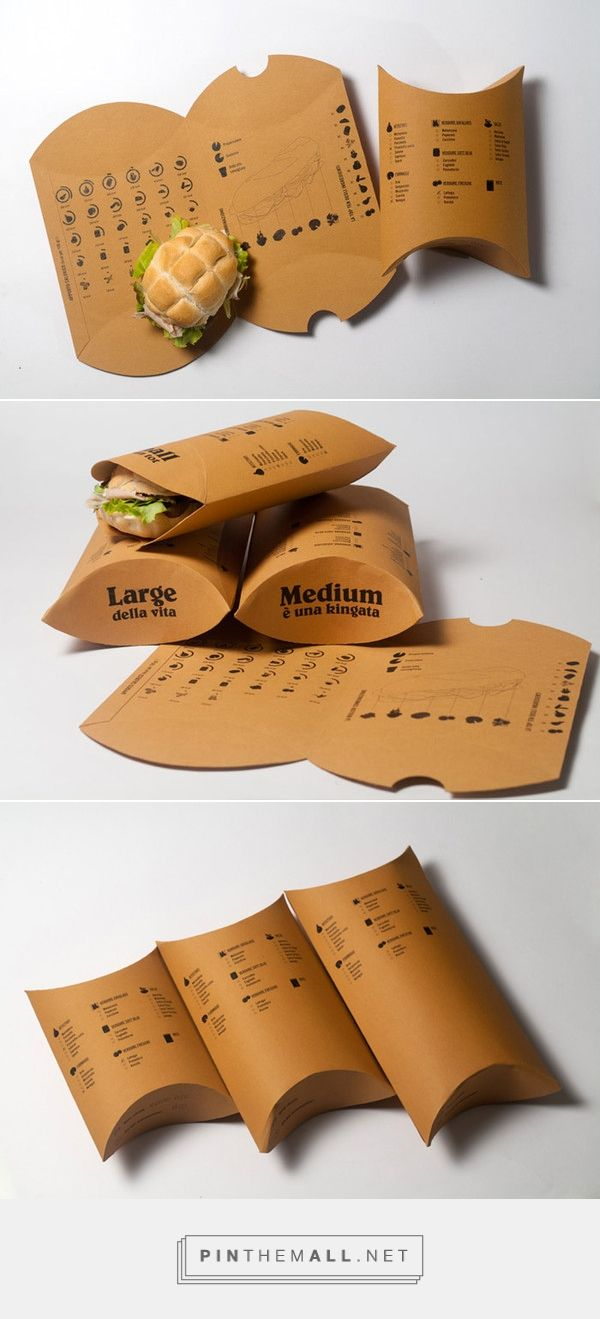 Sandwich take away packaging inspiration food packaging pinterest embalaje empaques y - Envases take away ...