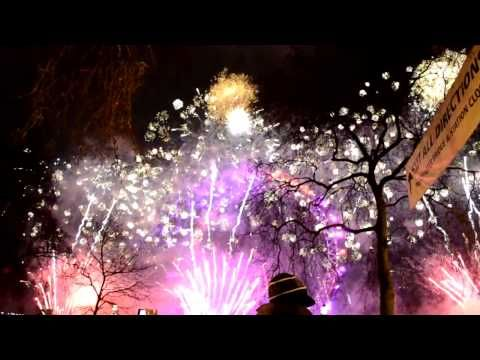 2013-2014 Midnight Fireworks | London, England (Full Show) (HD)