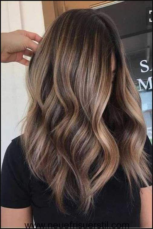 Lange Haare Blond Balayage Frisur Pinterest Hairstyles 2018 Einfache Frisuren Hair Styles Long Hair Styles Hair