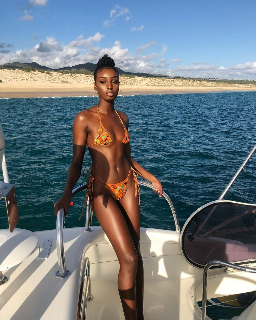 Model: @isamessiah - #beautiful #beautyday #black #blackcovergirl #blackgirlstraveltoo #blackout #br...