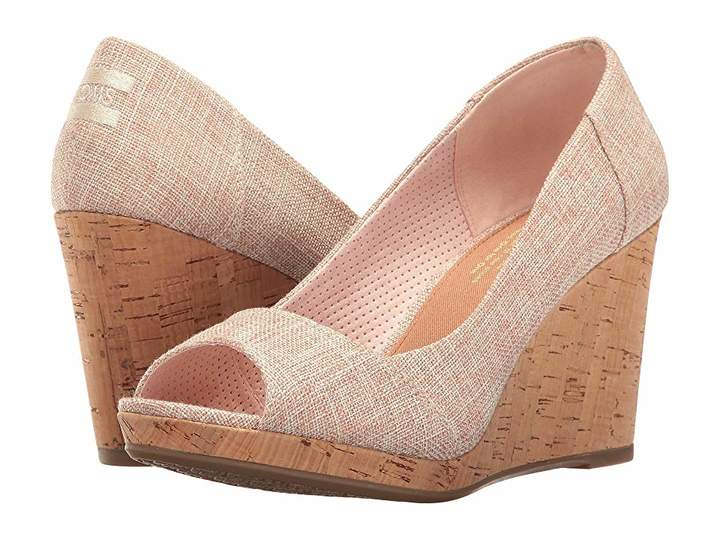281b6b26fe4 Toms Stella Wedge Women's Wedge Shoes | Products in 2019 | Womens ...