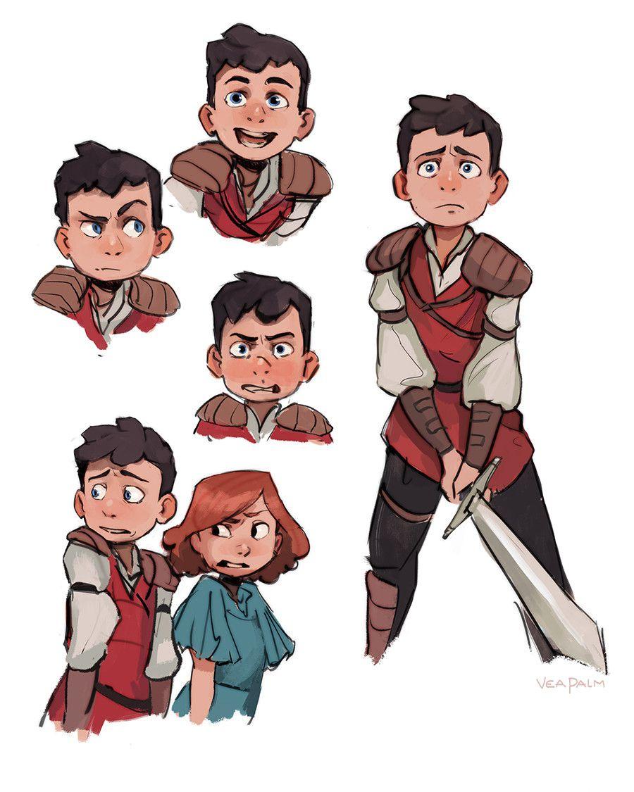 ArtStation Animation Character Designs, Vanessa Palmer