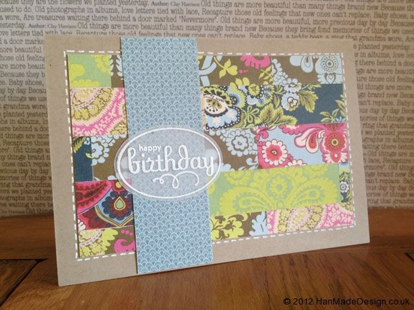 Birthday Card Hand Made Beautiful Cards And Scrapbook