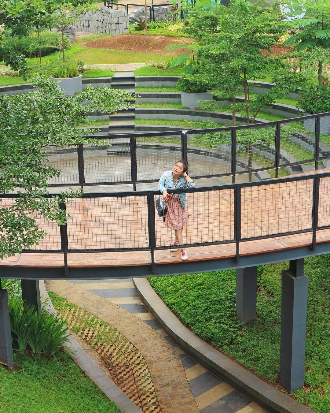 Padi Emas Sentul : sentul, Decor, (with, Pictures), Visitbogor.com, Today, Photo, @herdinavm, Sentul, Tm…, Outdoor, Structures,, Garden, Bridge,