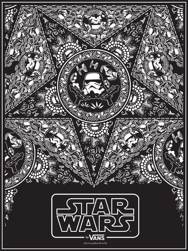 aafb5121db9069 Vans-x-Star-Wars-Poster-for-Comic-Con Stormtrooper-Bandana Tony-Munoz