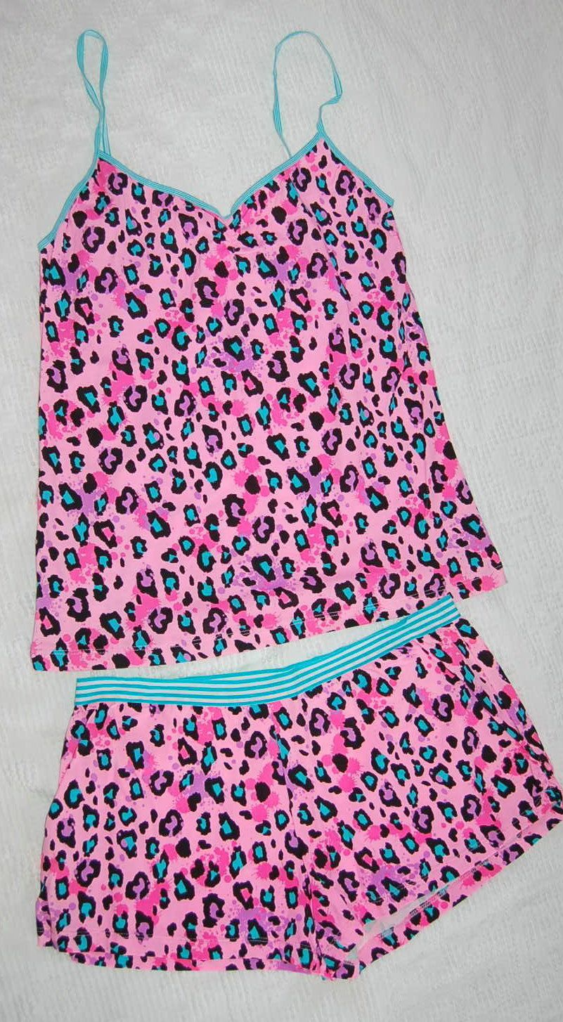 Leopard Pajamas. Have these. My fav pjs!   pijamas dreams ...
