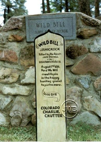 Wild Bill's Grave Site | cemeteries | Famous graves, Old ...