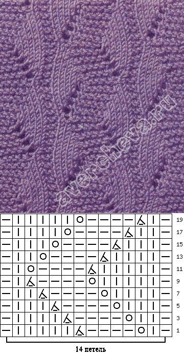 Photo of avercheva.ru – #averchevaru #knit pattern hole pattern