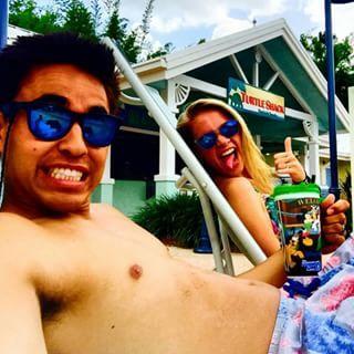 Holla at the honeymooners! @austinhaney24 @kelseylhaney enjoying their time on the beaches of Florida with their Happi Hoodz Shades. Stay Happi my friends. #happihoodz #happihoodzsunglasses #happihoodztravelstheworld #honeymoon #happy #happishades #smile