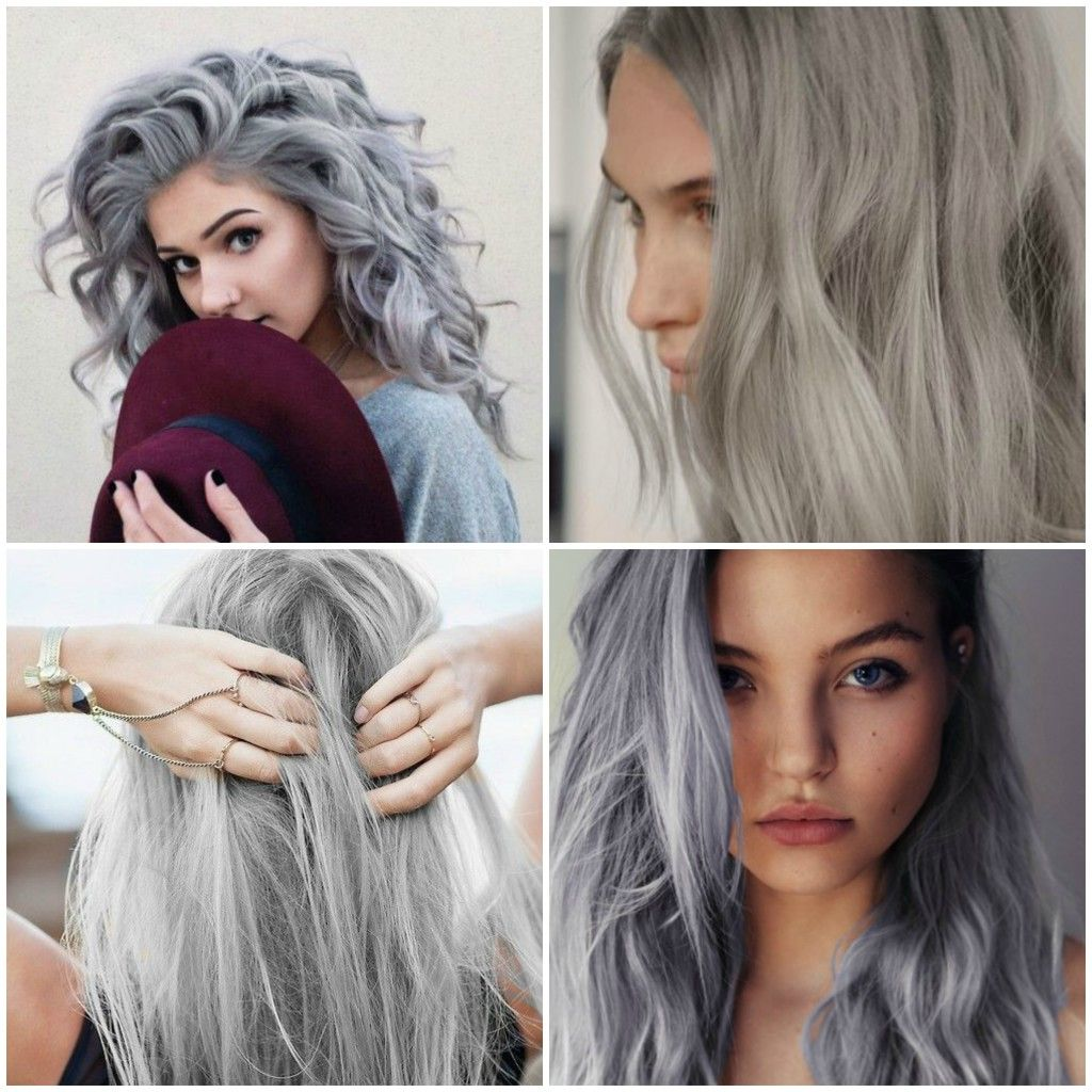 quelle coloration sur cheveux gris