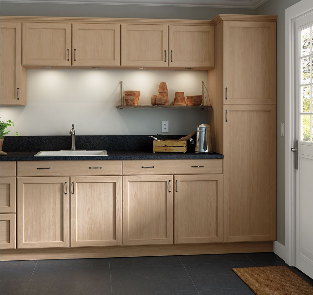 Easthaven Unfinished Base Cabinets Kitchen The Home Depot Unfinished Kitchen Cabinets Beech Kitchen Cabinets Kitchen Cabinets Home Depot