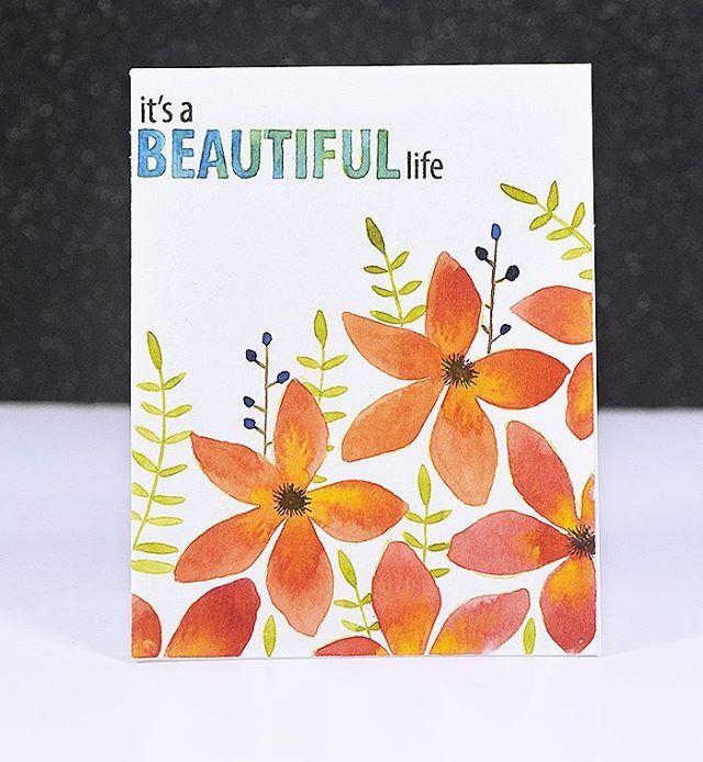 Sharing another card for @concordand9th . I used#Wildflowerand #Beautiful Wordsstamp set. For more details Link in my profile♡ #concordand9th #handmadecard #card #cards #handmade #papercraft #cardcarft #cardmaking #カード #趣味#スタンプ #手作り#手工卡片#手工#はんこ#手仕事 #ハンドメイド#핸드메이드카드 #수제카드 #핸드메이드 #카드만들기 #카드 #손카드 #꼼지락 #schmincke #thedailymarker30day