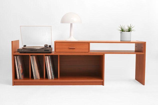 Hindsvik | Mid Century Modern Furniture, Home Decor and Design Shop - Vintage Teak Record Cabinet
