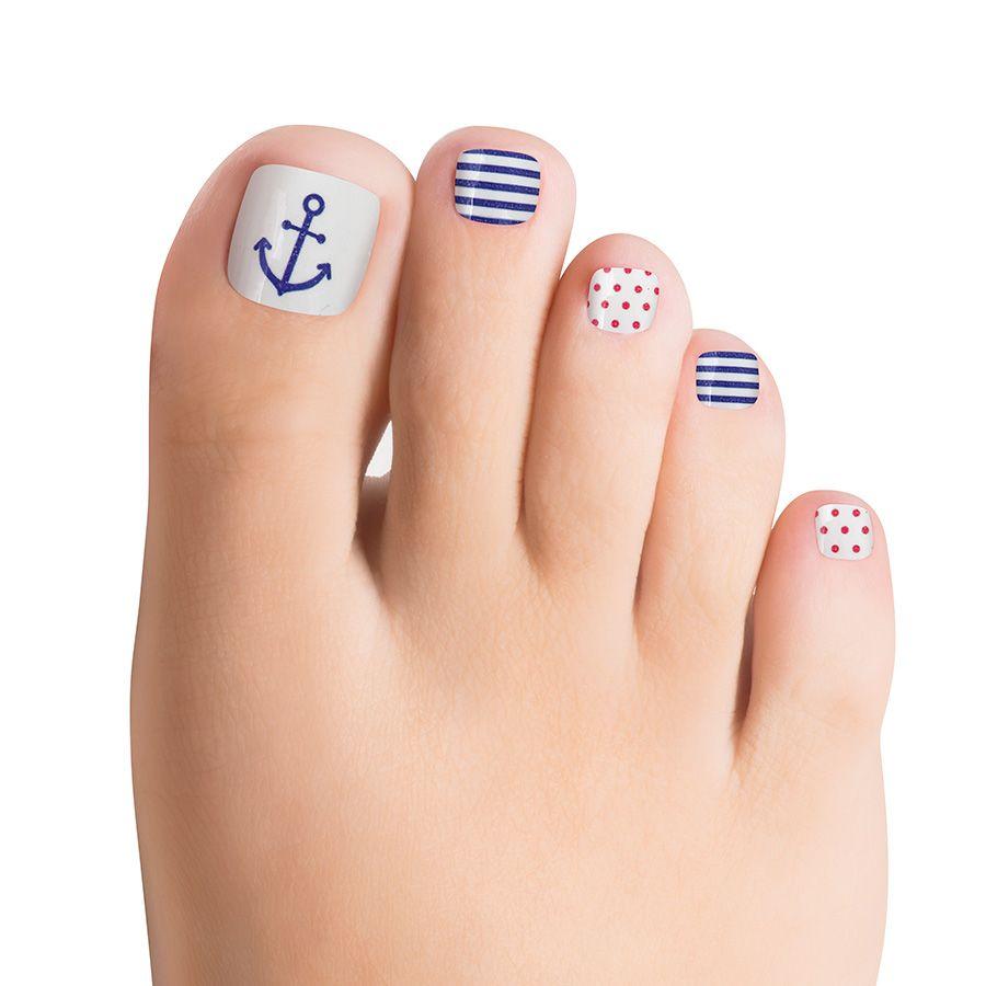 Ship Ship Hooray Nautical Nails Nautical Nails Color Street Nails Nails