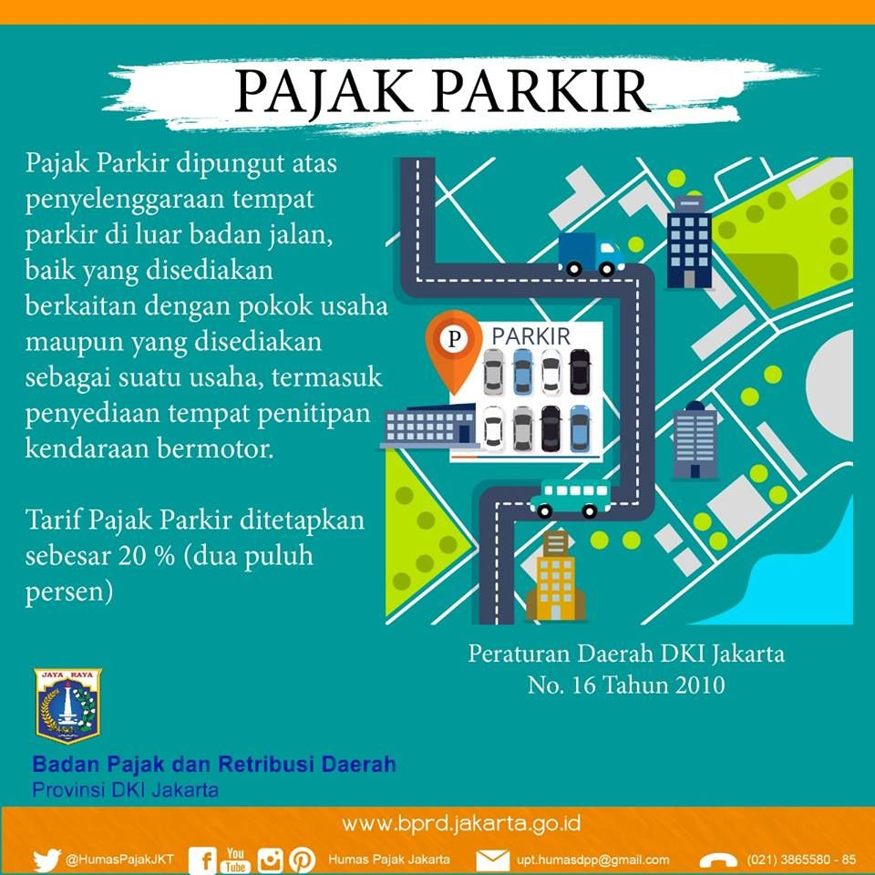 Sosialisasi Infografis Bprd Pajak Parkir Kendaraan