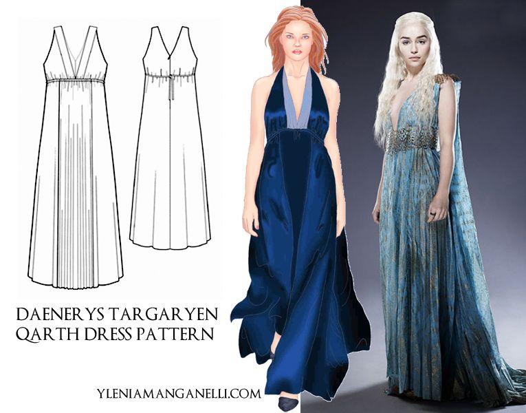 Daenerys Targaryen Qarth Costume Diy   Diydrysite.co