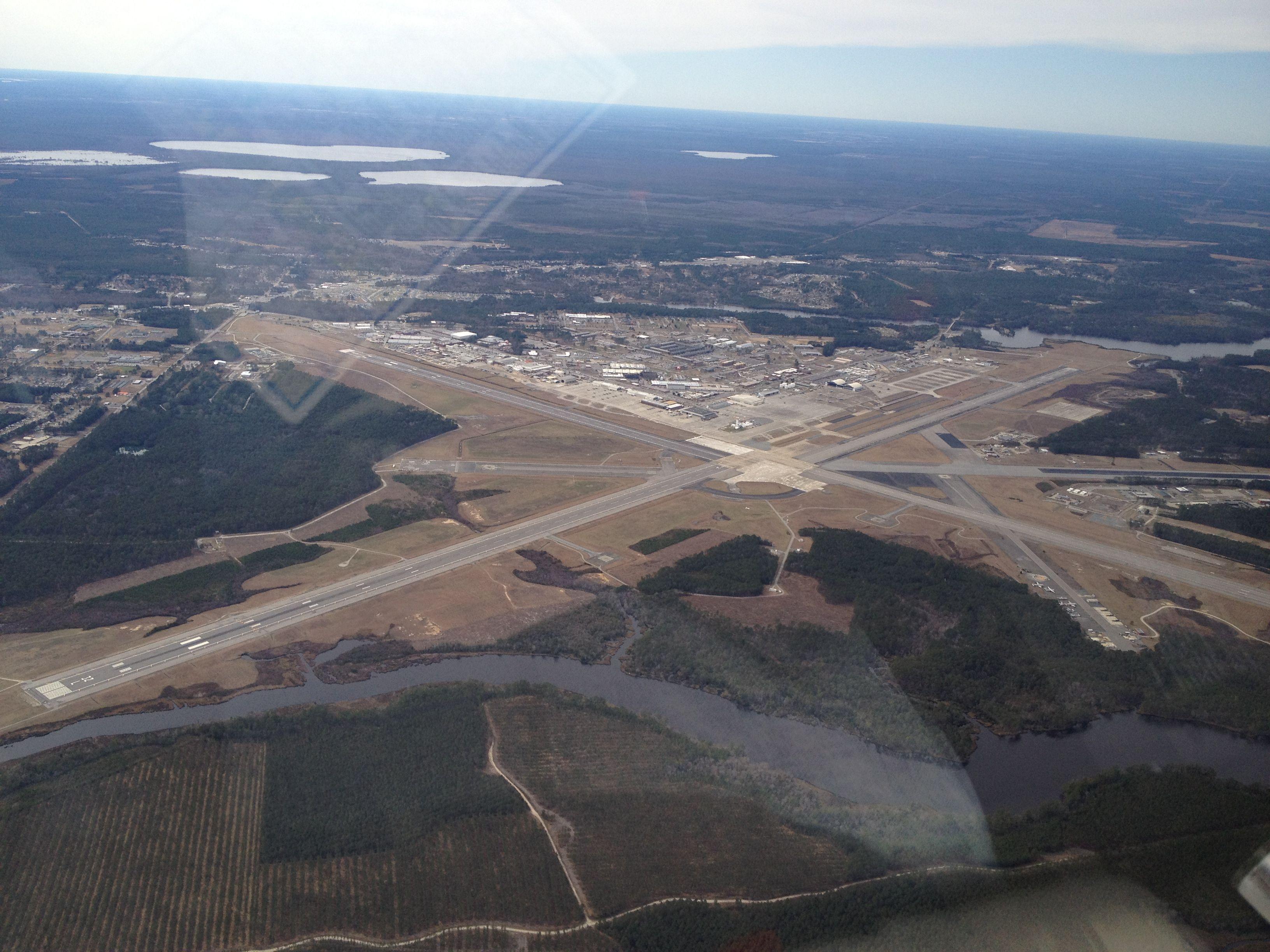 Cherry Point Nc Marine Corp Air Station Airplane View Marine Military Base