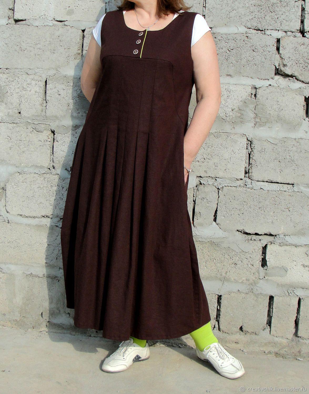 a71fa256081 Бохо сарафан с отделкой цвета весенней зелени – купить или заказать в  интернет-магазине на