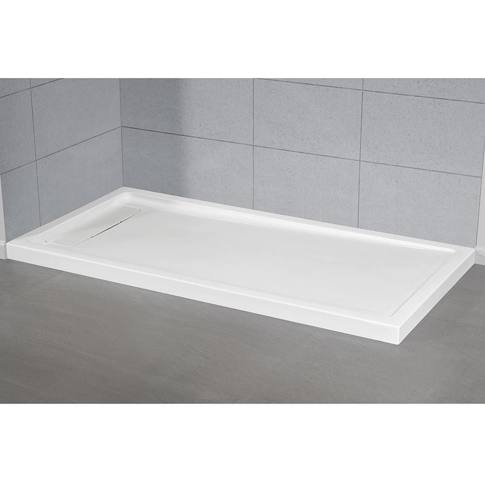 Ove Decors 36 In X 72 In Shower Base In White In 2020 Acrylic
