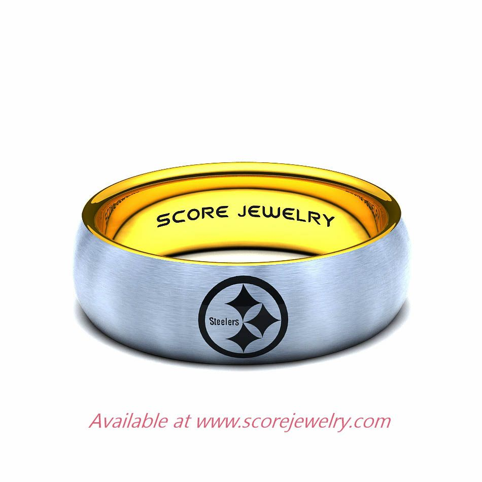 pittsburgh steelers wedding ring Wedding Set Pinterest