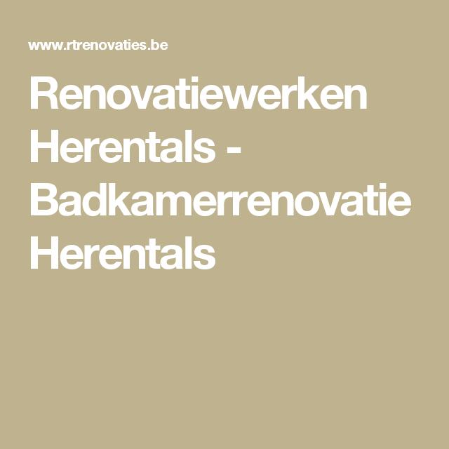 Renovatiewerken Herentals - Badkamerrenovatie Herentals
