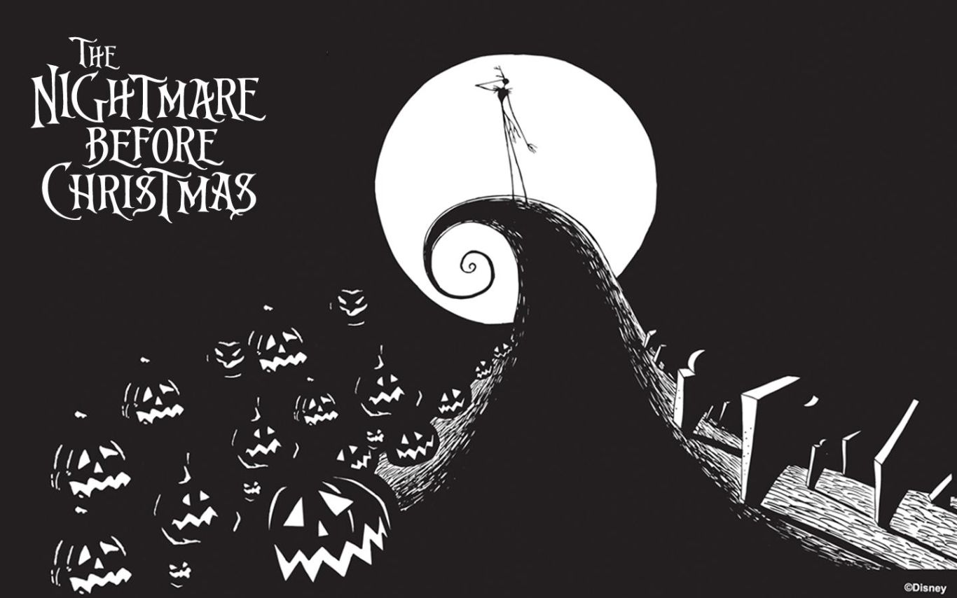 The Nightmare Before Christmas Wallpaper 1366x854 Filmes