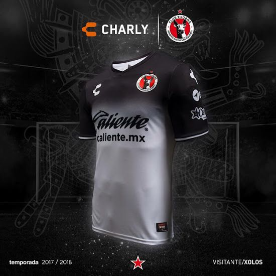 560ee6360 XOLOS 17-18 AWAY KIT | Jersey kit | Club tijuana, Soccer, Football