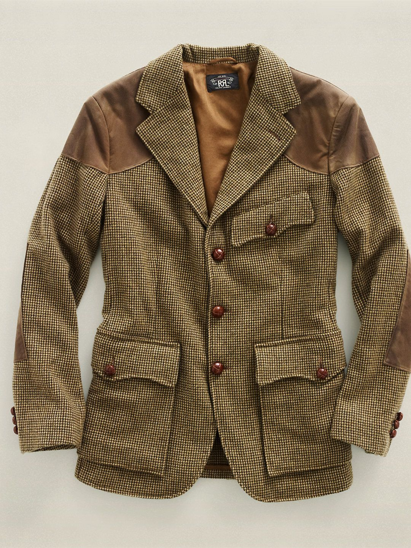 Love this sports coat! Tweed Oilcloth Sport Coat