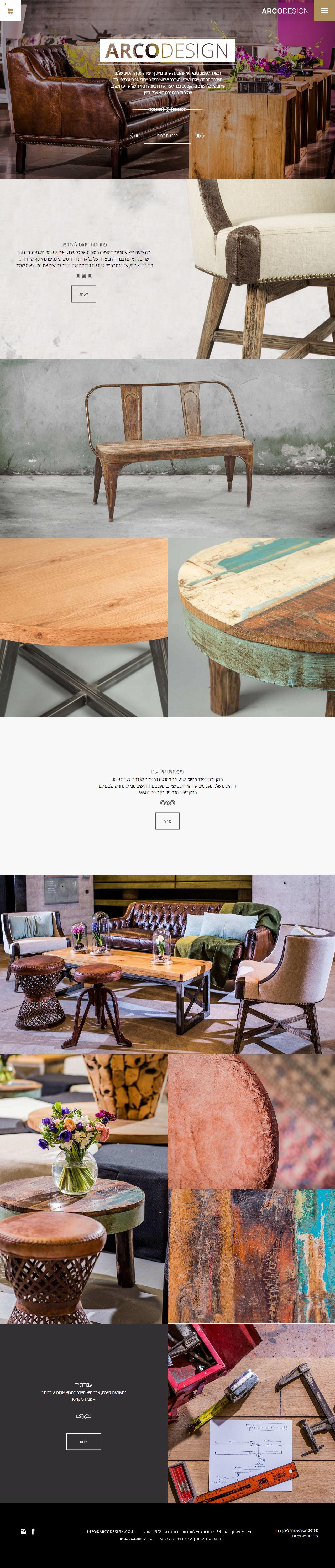 Full Web Design Inspiration - Arco Design
