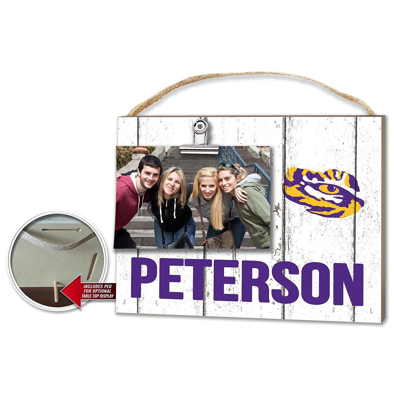 Personalized Clip It College Sports Plaque Louisiana