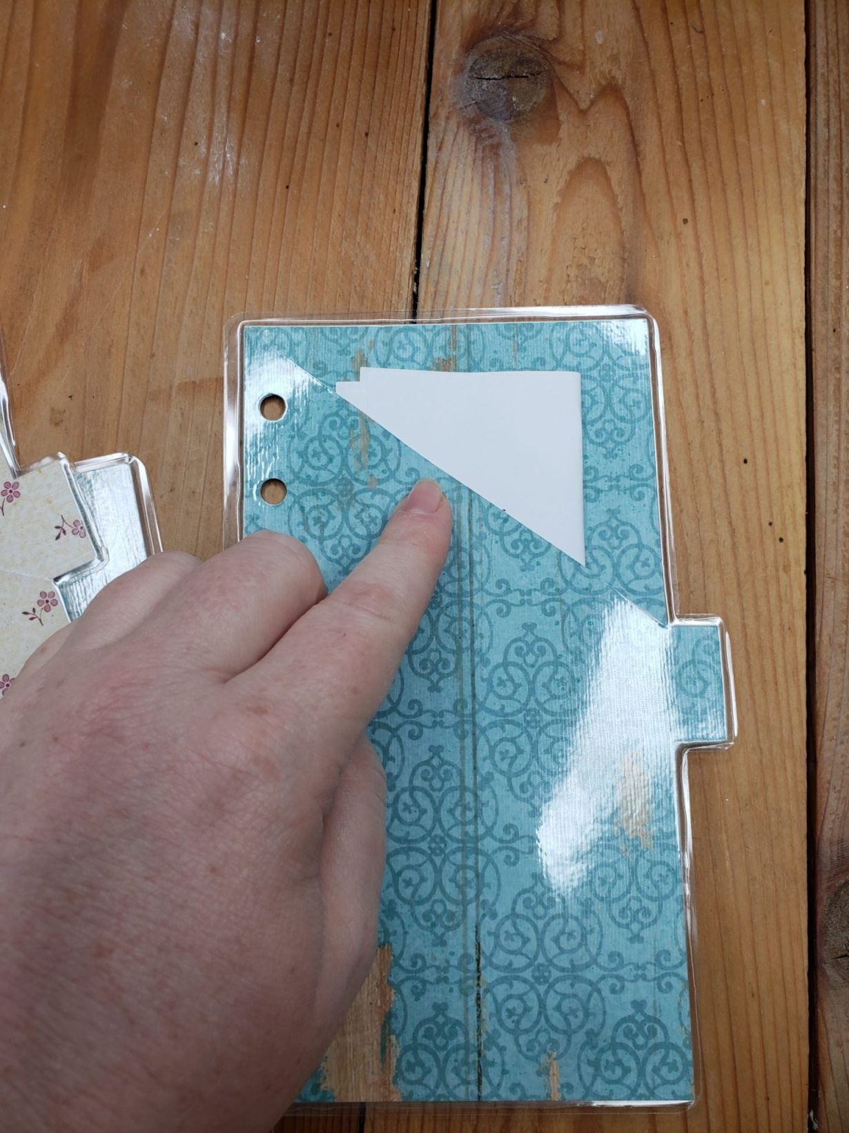 Diy cash envelopes with cricut laminated with tabs in