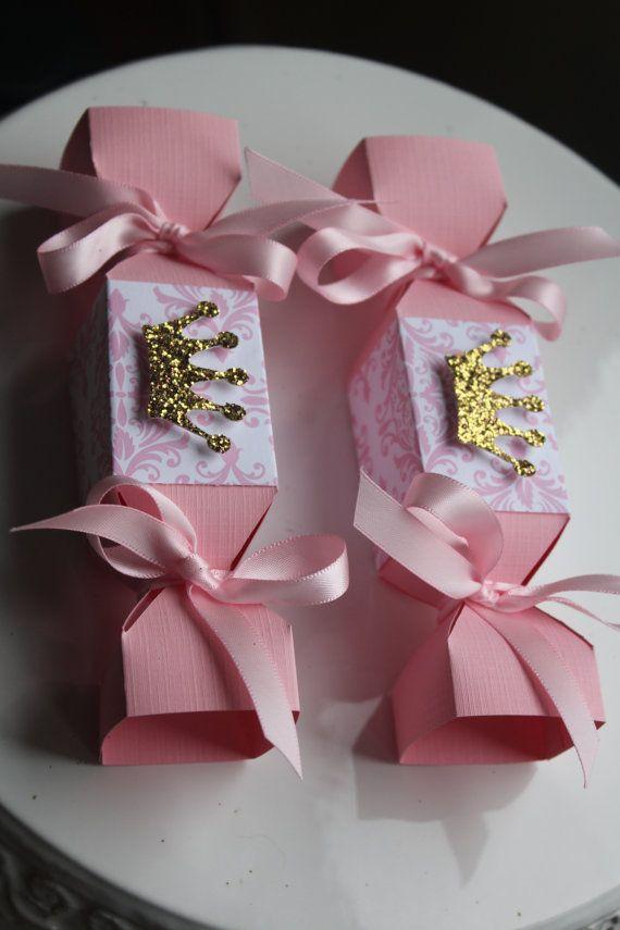 Galleta dulce princesa caramelo caja cotillón por FavorsAndMemories