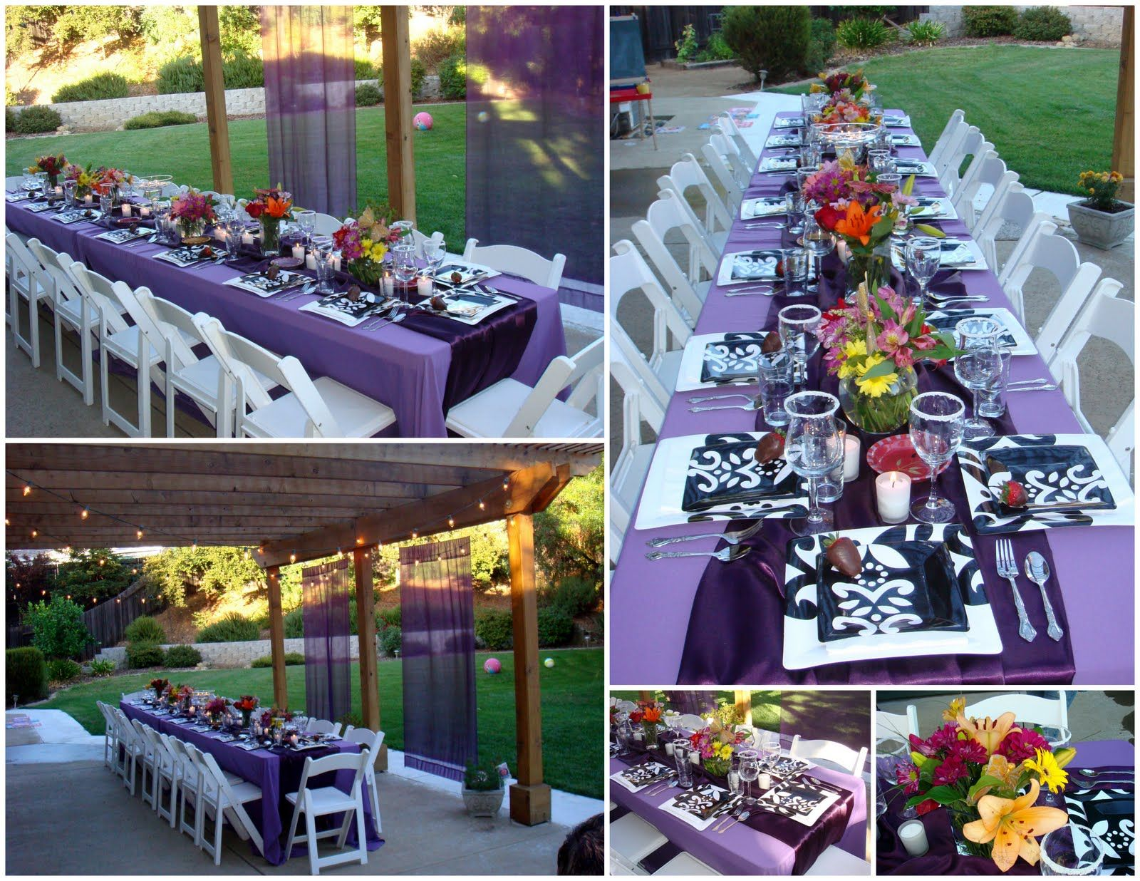 Elegant College Graduation Party Ideas Summer Graduation