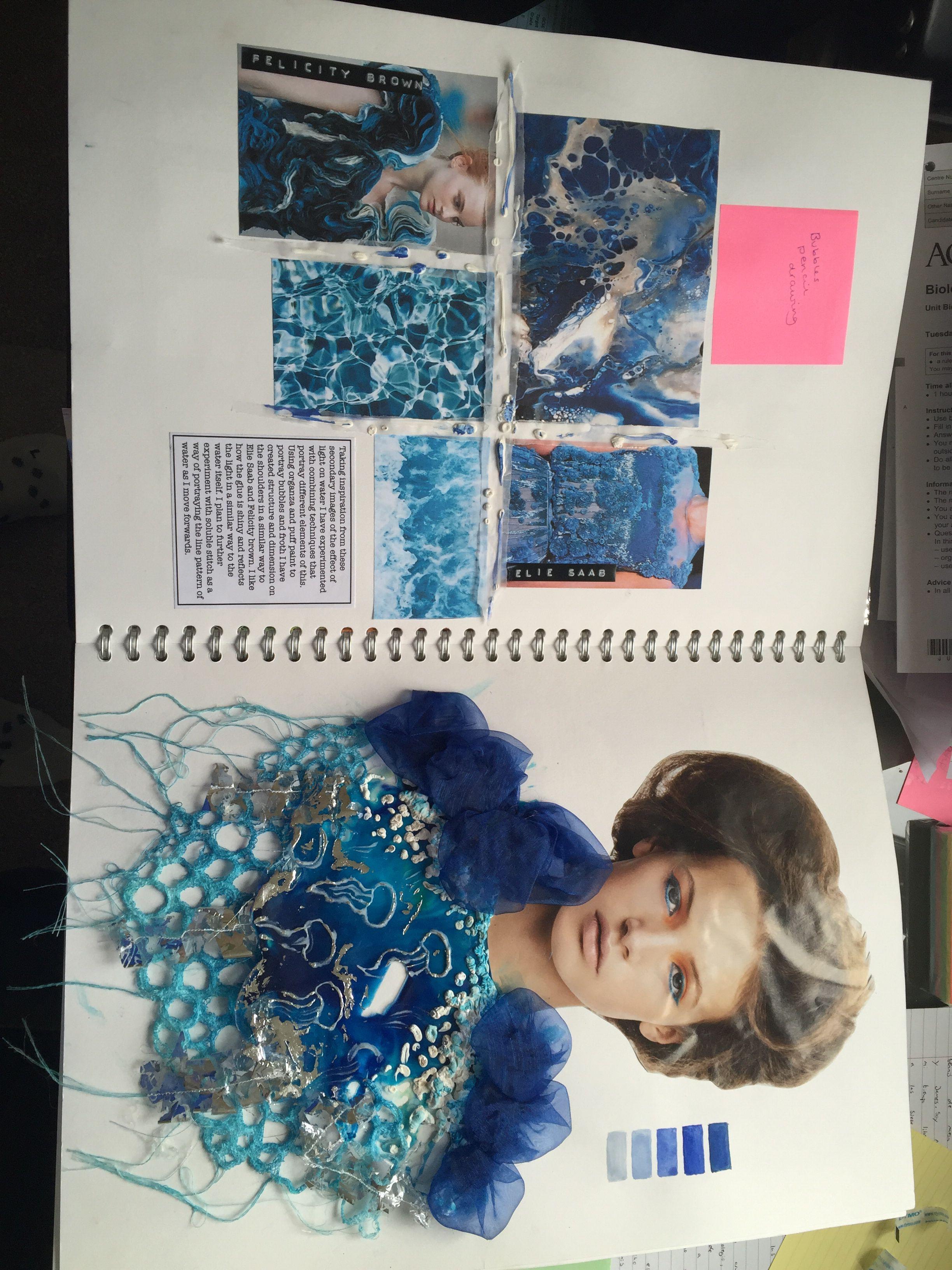 Gcse Art Sketchbook Fashion