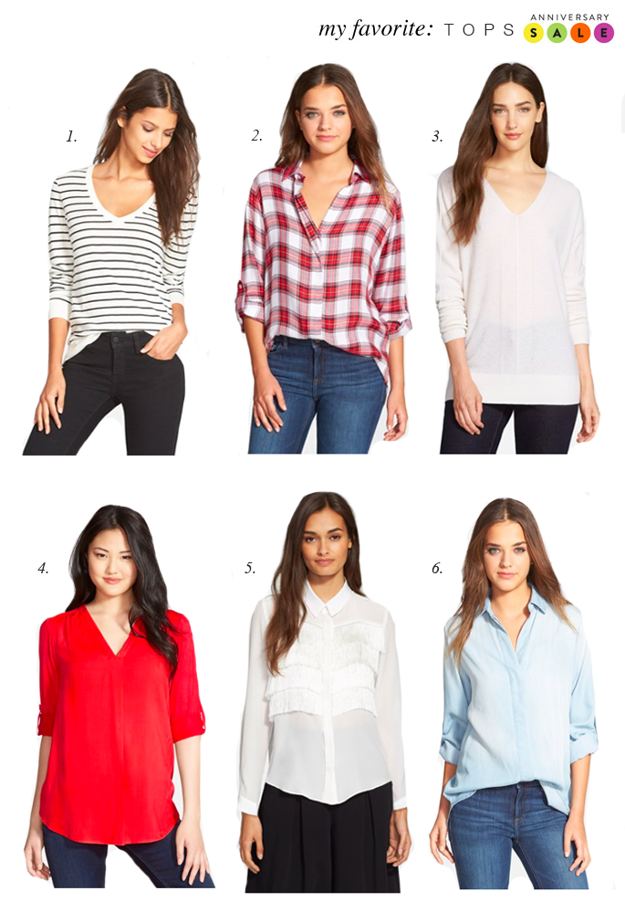 Nordstrom Anniversary Sale Tops...