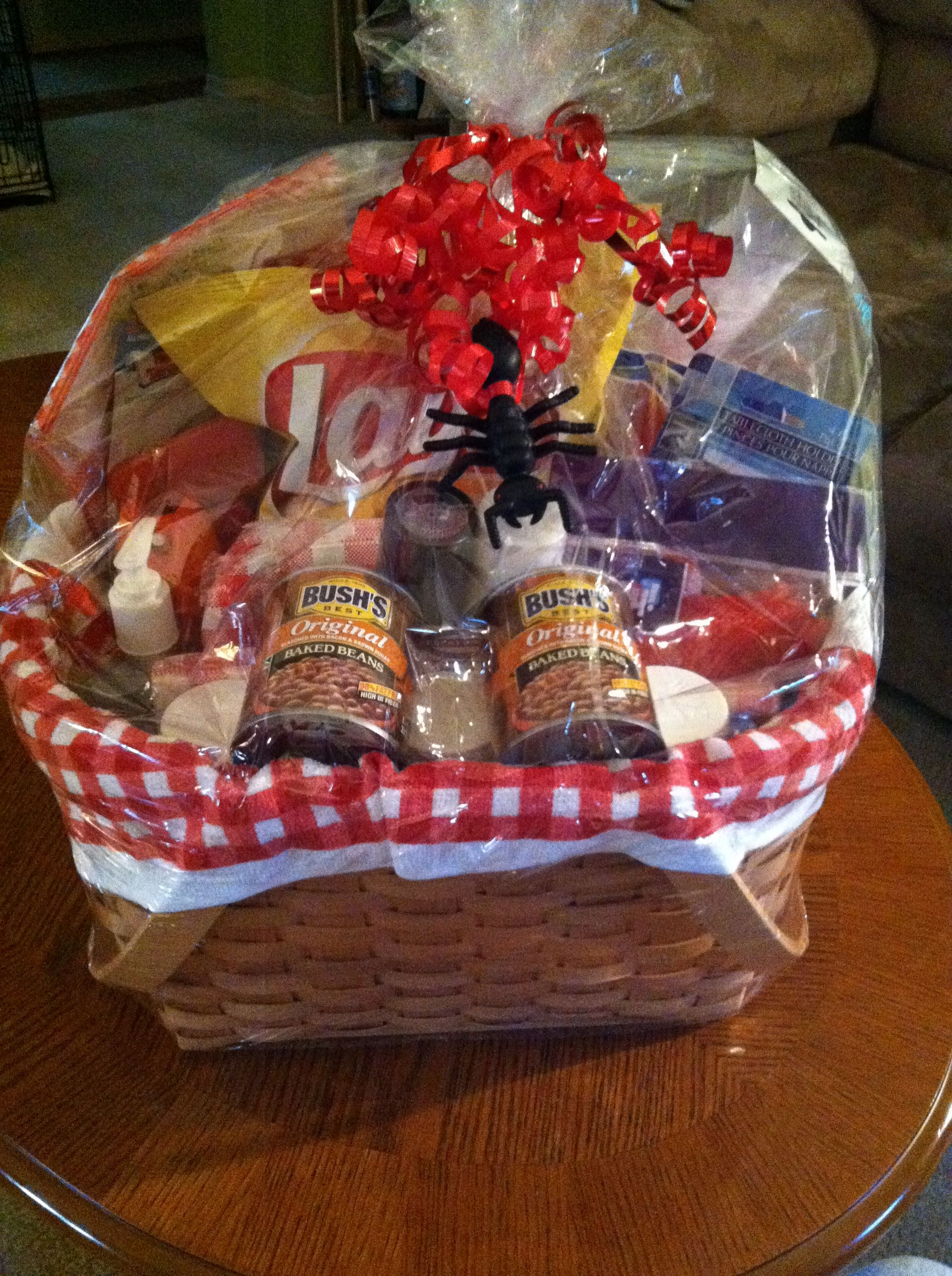 Ideas For A Picnic Basket Gift : Picnic basket for chinese auction