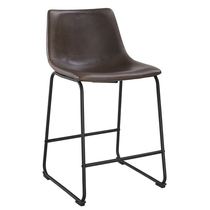 Mary Kate Counter Bar Stool Leather Counter Stools Bar Stools