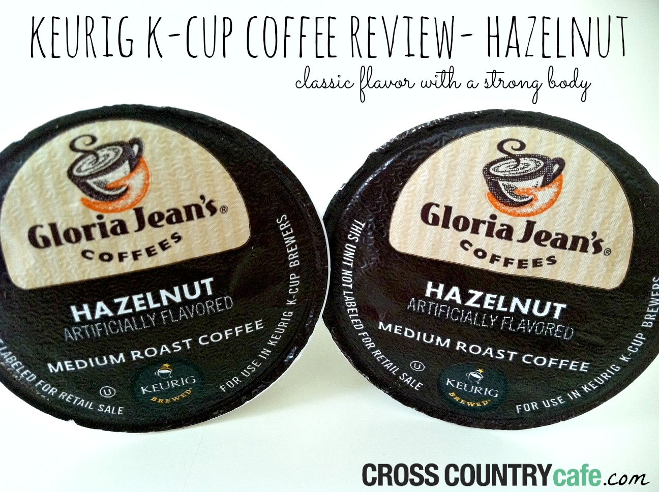 Gloria Jeans does flavored coffee best (in my humble opinion), read my review of their delicious Hazelnut K-cups here.