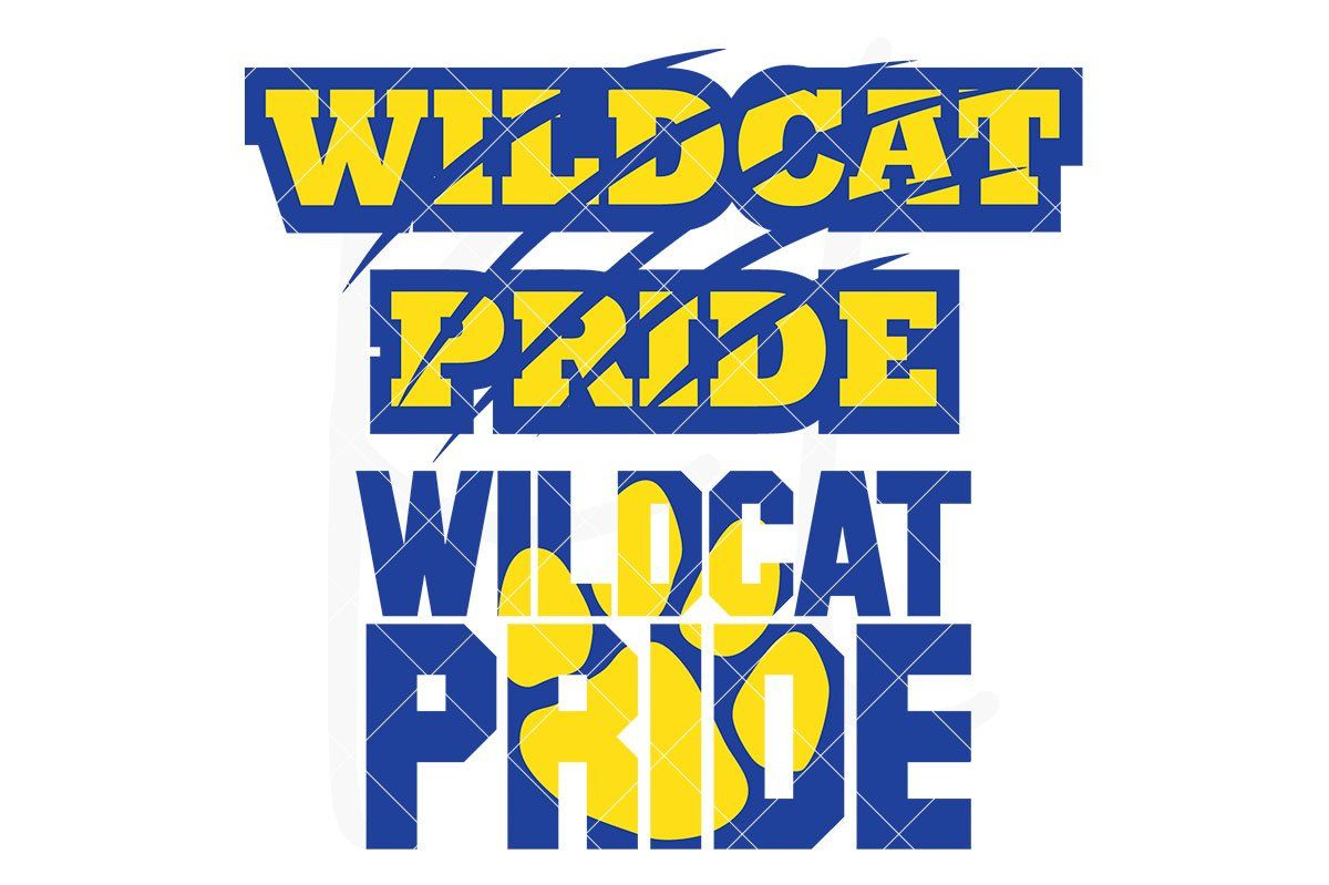 It S A Wildcat Thing Svg Dxf Eps Png Cut Files Artofit