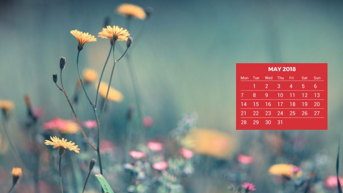 Calendar Wallpaper Originals : May calendar desktop wallpaper
