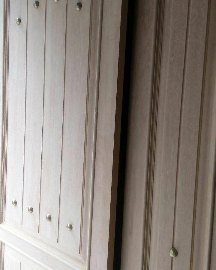 Pintu Double Beda Lebar Gaya Scandinavian Kamper Samarinda Oven